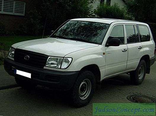 TLK-105: specificații tehnice, tuning.  Toyota Land Cruiser
